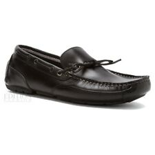 Clarks Circuit Pic Men's Leather Driving Moccasins Made in Brazil 26100066 Black