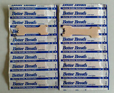 BETTER BREATH NASAL STRIPS MEDIUM/ LARGE RIGHT WAY TO STOP SNORING **UK STOCK**