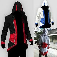 Assassins Creed 3 III Fashion Hoody/Jacket Cosplay Costume Clothing Zipper 3Size