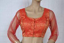 Readymade Blouse Stiched Choli Bollywood Partywear Designer Wedding Silk Saree76