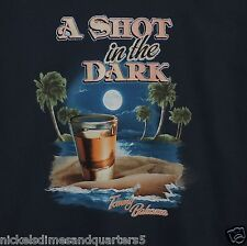 """Tommy Bahama """"A SHOT IN THE DARK"""" Brand New Navy Blue T Shirt"""