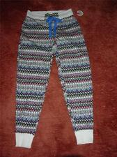 SO Knit Jersey Lounge / Sleep Pants-Colorful Geo Design- Juniors Womens -$26-NWT