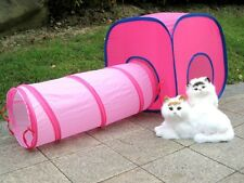 5 Combinations to Choose Cat Cube and Tunnel Set Pet Dog Kitten Toy Tent