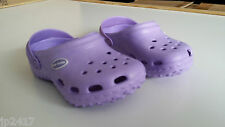 AUSSIE SOLES KIDS KLOGGS PURPLE QUALITY SUPPORTIVE INNER SOLE SLIP RESISTANT