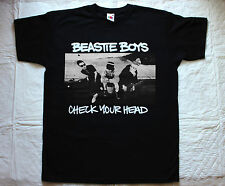 BEASTIE BOYS CHECK YOUR HEAD'92 RAP ROCK PUNK HOUSE OF PAIN NEW BLACK T-SHIRT