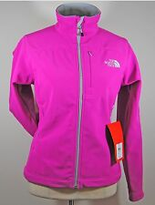The North Face Women's Caroleena Apex Bionic Softshell Jacket Coat Pink Sz S M L