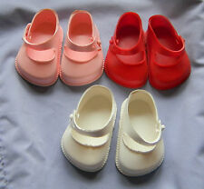 Cinderella  Doll Strap  Shoes, Size 1 ,White,Pink or Red