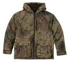 2XL Mossy Oak Brush Bomber Jacket Men's Insulated Hooded Camo Hunting Coat Duck