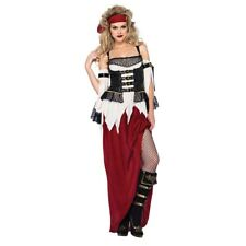 Pirate Costume Adult Gypsy Wench Halloween Fancy Dress