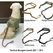 Tactical Dog K9 Training Bungee Leash (4 Colors Option)