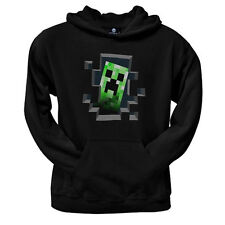 Minecraft Creeper Inside Hoodie Boys Kids Youth New Official