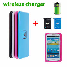 New Portable Wireless Fast Chargering Mat&Pad to SANSUNG Note 3/S4/S5 Safety
