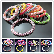 Lot FREE Elastic Girl Hair Bands Headband Rope Scrunchie Ponytail holders mixed