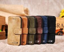 GENUINE G-PHOENIX LUXURY HIGH QUALITY LEATHER WALLET CASE FOR IPHONE 5 5S