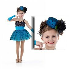 Shirley Temple Dance Dress Costume Ballet Tutu Pageant Halloween New 6X7 - AXL