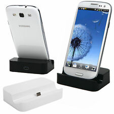 Sync Data Charger Cradle USB Dock Base Station Holder For Samsung Galaxy S4 S3