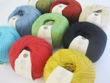 Rowan Cotton Glace 50g VARIOUS SHADES pure mercerised sport weight cotton