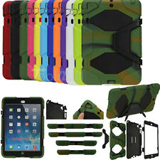 Waterproof Survivor Shockproof Military Duty Hard Case For iPad 2/3/4/5 Mini 1/2
