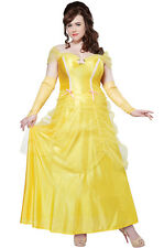 Brand New Classic Beauty Princess Belle Beauty and the Beast Plus Size Costume