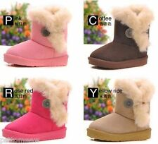 HOT Boy / girls Antislip child warm shoes kids Children's Snow boots 4 colors..