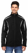 North End Sport Men's Enzo Chin Guard Color Block Soft Shell Jacket. 88650