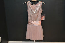 Biscotti girls stunning cocoa color Holiday dress size 8,10, 12
