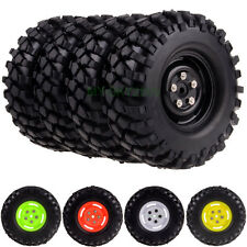 "1/10 RC model 4WD Car Off-road Rock Crawler Tyres & 1.9"" Wheel Rims With screw"