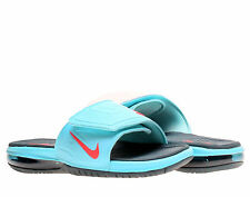Nike AIR LEBRON 3 SLIDE ELITE - 631260 360 - New Mens Blue Slides Sandals