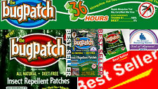 BUG PATCH MOSQUITO & INSECT REPELLENT PATCHES 6,12,18,24 PACKS*** YOU CHOOSE!!