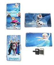 Disney Frozen Elsa Olaf leather phone case iPhone 4 5 5c 6 Samsung S3 S4 Mini S5