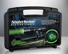 GREEN LED NightSnipe CLASS - 1 Predator, Coyote Hunting Light Kit