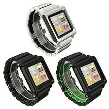 New Aluminum Multi-Touch Wrist Strap Watch Band for iPod Nano 6th generation
