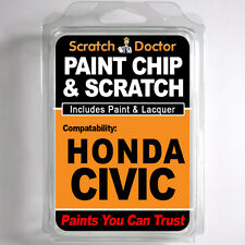 HONDA CIVIC TOUCH UP PAINT Stone Chip Scratch Repair Kit 2010-2014