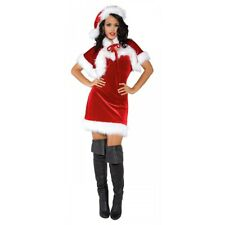 Mrs Claus Costume Womens Sexy Santa Outfit Adult Christmas Fancy Dress