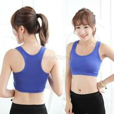 Hot Sale Womens Non Padded Yoga Bra Leisure Crop Top Vest New Comfy Sports Bra
