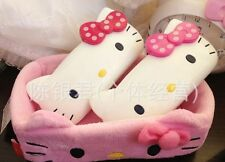 Cute Kawaii Hello Kitty Hard Shell Glasses Eyeglass Case Box holder Pink red bow