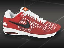 Nike AIR MAX CAGE - 554875 002 - New Mens Red White TENNIS Shoes Sneakers