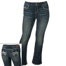 Hydraulic Paisley Bailey Micro Boot Jeans