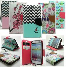 varied Color PU Leather Wallet Flip Pouch Case Cover For SAMSUNG GALAXY S4 I9500