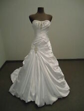 New White/ivory Wedding Dresses Gown Bride stock size 6-8-10-12-14-16 Or Custom