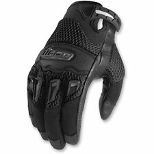 Icon Men's Twenty-Niner Glove 29er Black Motorcycle Riding Glove Stunt