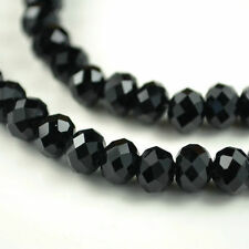 Hot Black Swarovski Crystal Loose Bead 4x6-6x8mm 69-99 pcs