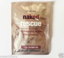 Naked Rescue Repairing Hair Treatment,20ml Sachets,Frizzy Damaged,Sets 3- 5