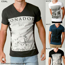 Mens NEW Tee Style Fashion Streetwear Tshirt RAWEDGE Designer Soft Cotton Casual