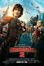 How To Train Your Dragon 2 Movie Giant Poster - A0 A1 A2 A3 A4 Sizes
