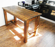 Chunky Rustic Dining Kitchen Table