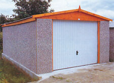 """CONCRETE APEX GARAGES PRICED FOR FITTING IN LONDON 9FT5"""" WIDTH"""
