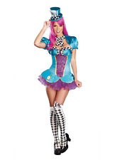 Adult Female Sexy Totally Madd Hatter Costume by Dreamgirl 8962
