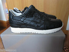 Asics x Kith Grand Opening Ceremony Gel Lyte III GL3 GL 3 Black Leather 8-13
