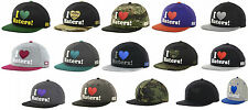 OFFICIAL DGK DIRTY GHETTO KIDS I LOVE HATERS HEART FLAT BRIM SNAPBACK HAT CAP